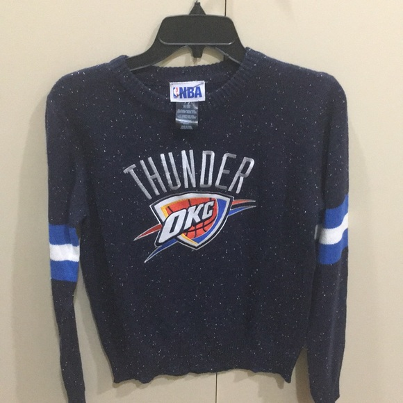 new style ce811 62719 Oklahoma City Thunder Kids Christmas Sweater (NEW) NWT